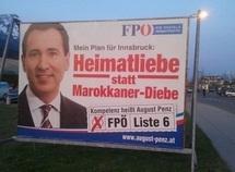 Autriche : Enquête sur une affiche anti-marocaine