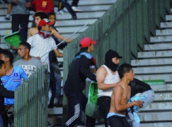 Le football de tous les périls :  Casse, vandalisme, agressions …  Les voyous du stade