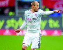 Transfert : Robben rempile avec le Bayern