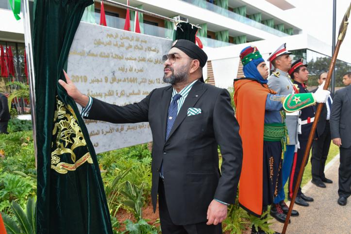 S.M le Roi inaugure le Complexe Mohammed VI de football