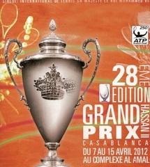 Coup d'envoi du Grand Prix Hassan II de tennis