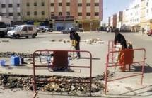 Casablanca en proie à l'incivilité de ses résidents : Un mécanicien construit son propre rond-point à Sidi Bernoussi