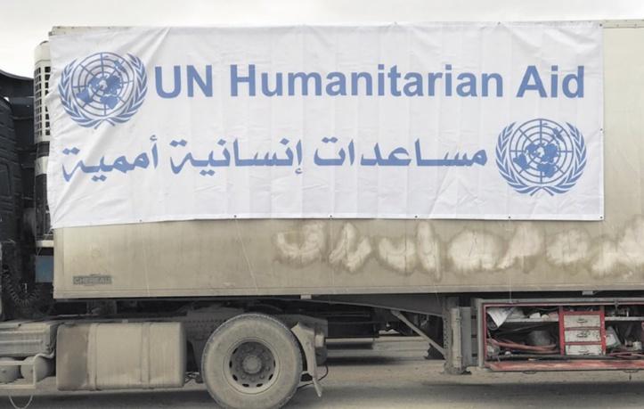 Syrie : l'ONU demande de poursuivre l'aide humanitaire à travers les frontières