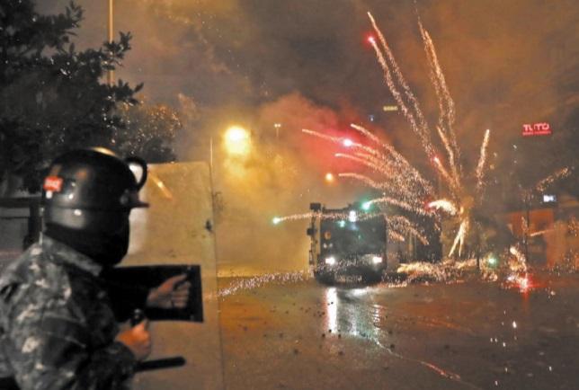 Des dizaines de blessés dans des heurts entre policiers et partisans de mouvements chiites au Liban