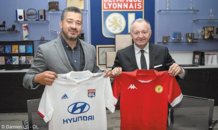 L'Olympique Lyonnais noue un partenariat avec l'Académie Mohammed VI de football