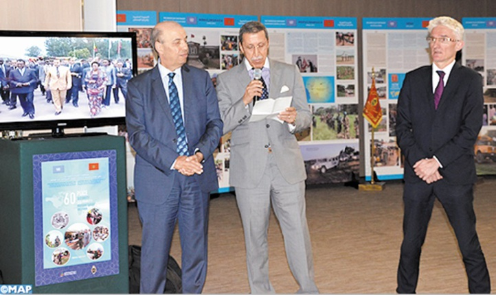 La contribution marocaine aux opérations de maintien de la paix mise en lumière par l'ONU