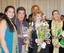 Fatima-Zahra Lahlou, Doukkali et Souiri dans une soirée de gala
