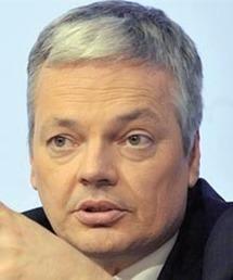 Didier Reynders, ministre belge des Affaires extérieures, du Commerce extérieur et des Affaires européennes