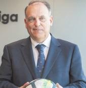 Javier Tebas réélu président de la Ligue espagnole