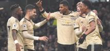 Premier League : Leicester consolide,Tottenham se loupe dépassé par United