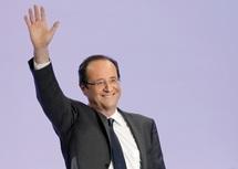 Le socialiste François Hollande en pole position pour le second tour