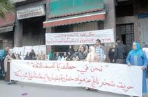 Sit-in des victimes de l'incendie de Kissariat Essaada à Casablanca : Contre les autorisations d'activités dangereuses en milieu résidentiel