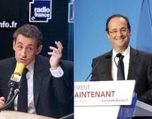 Présidentielle française : Sarkozy cogne sur les médias, Hollande les cajole
