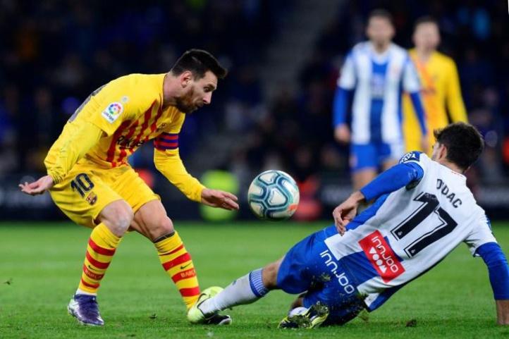 Le Barça  accroché et rejoint en tête par le Real