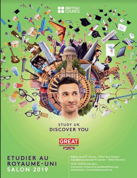 Sixième édition du Salon des études supérieures au Royaume-Uni