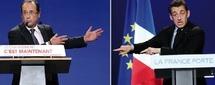 Face à face crucial demain : Hollande et Sarkozy sur la dernière ligne droite