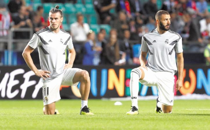 Bale et Benzema indisponibles pour la Supercoupe d'Espagne