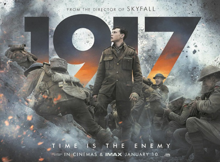 """Révélé par sa victoire aux Golden Globes, le film """"1917"""" en route vers les Oscars"""