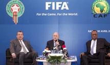 """Pour le président de la FIFA, Joseph Blatter : Le programme de développement du football marocain est """"ambitieux et réaliste"""""""
