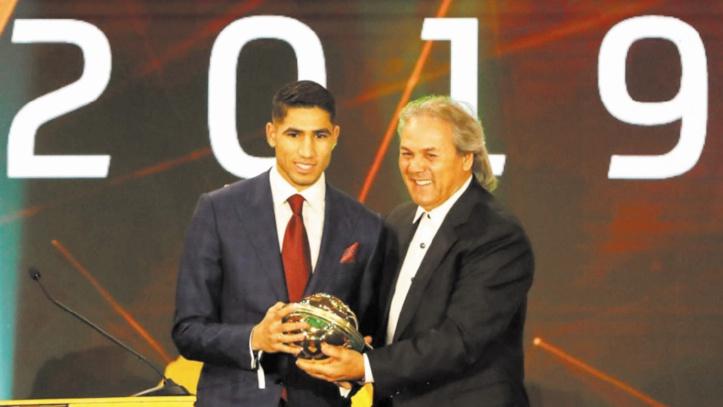 Achraf Hakimi : Etre élu meilleur jeune joueur africain me motivera davantage à persévérer pour remporter d'autres prix