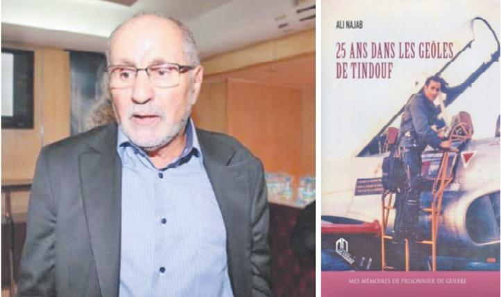 """""""25 ans dans les geôles de Tindouf"""" Ali Najab présente à Rabat ses mémoires de prisonnier de guerre"""