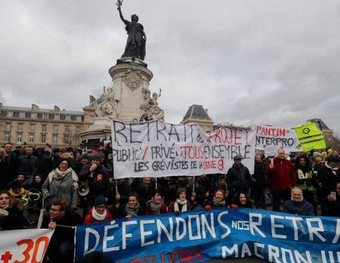 Nouvelle manifestation en France contre la réforme des retraites