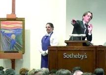 """Pastel du peintre norvégien Edvard Munch : Record mondial pour """"Le Cri"""" vendu 119 millions de dollars"""