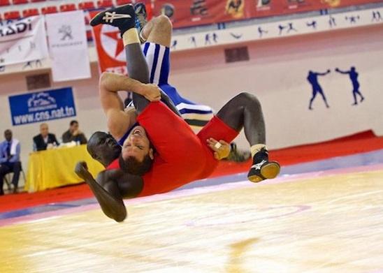 Casablanca à l'heure du championnat du Maroc de lutte des cadets