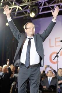 """François Hollande élu septième chef de l'Etat français :  """"Moi président de la République…"""""""