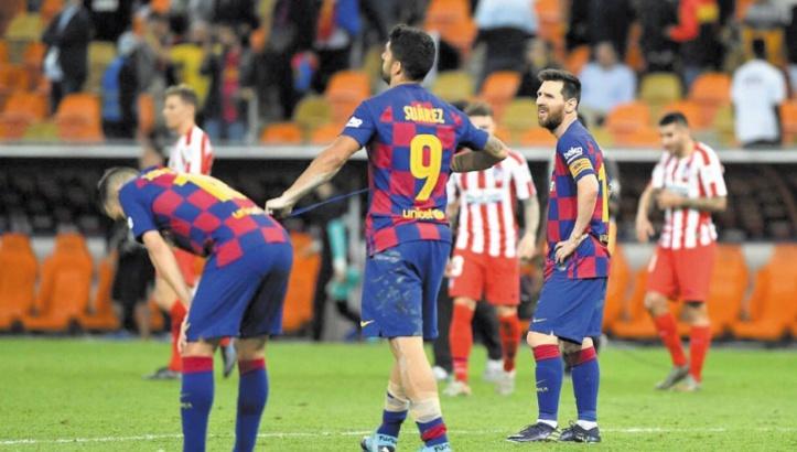 Semaine cauchemardesque au Barça