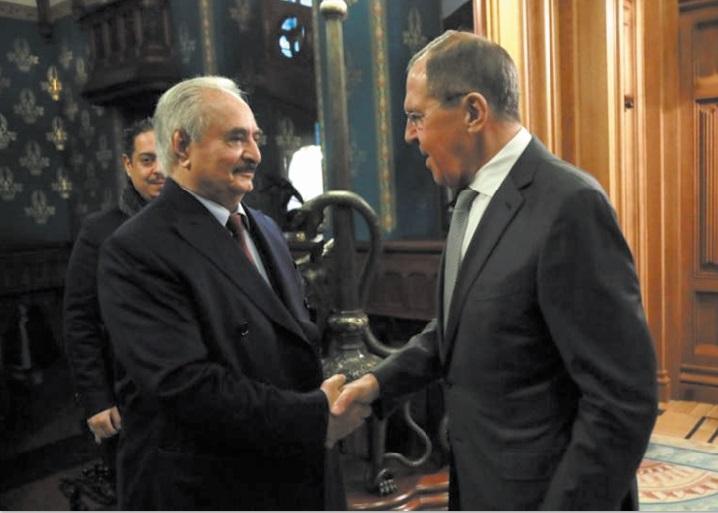 Haftar quitte Moscou sans signer d'accord de trêve