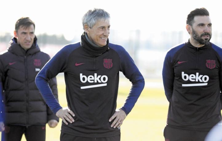 Setién : Ma seule promesse, c'est que le Barça jouera bien