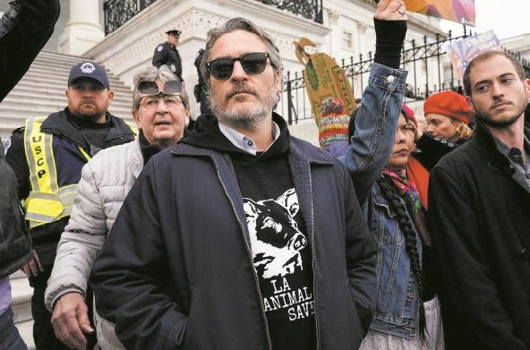 Joaquin Phoenix arrêté lors d'une manifestation