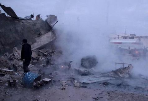 La Russie intensifie ses raids sur le nord-ouest de la Syrie