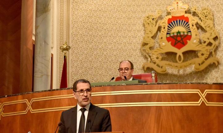 Dans son intervention lors de la séance mensuelle consacrée à la politique générale à la Chambre des conseillers