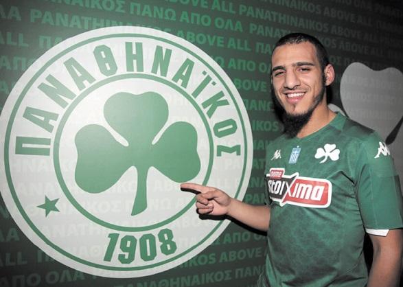 Yassin Ayoub signe au Panathinaïkos