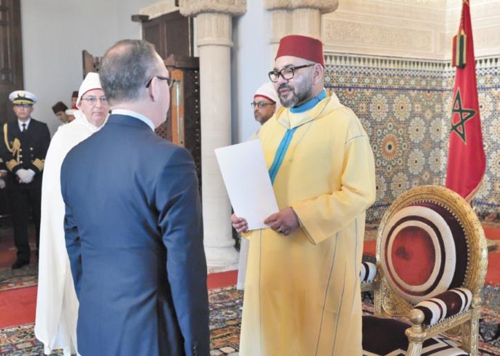 S.M le Roi reçoit plusieurs ambassadeurs étrangers
