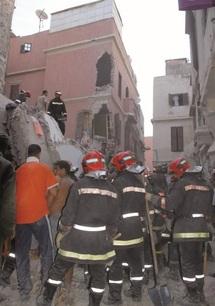 La Médina endeuillée de nouveau : Cinq morts et un disparu dans l'effondrement d'une maison à Casablanca