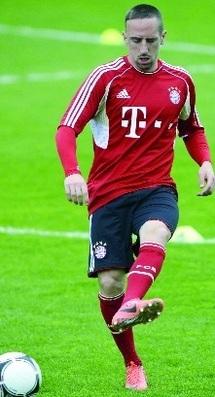 Ribéry, une première