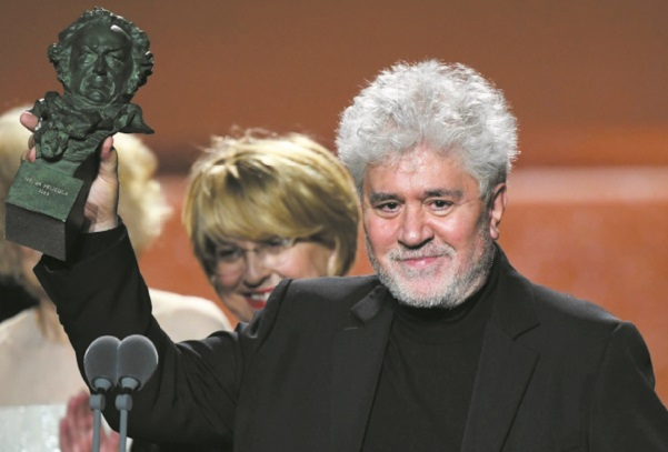 """""""Douleur et gloire"""" de Pedro Almodovar triomphe aux prix Goya"""