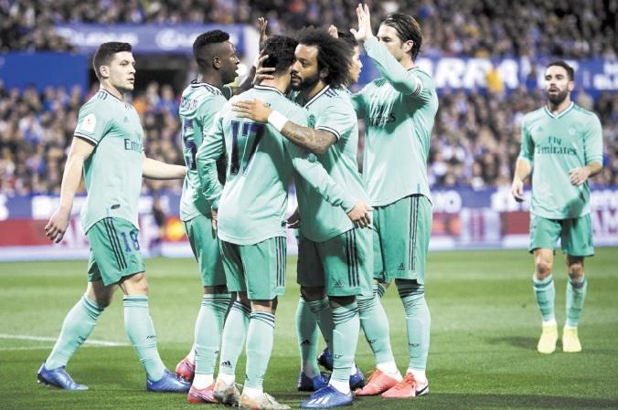 Coupe d'Espagne : Le Real toujours en course