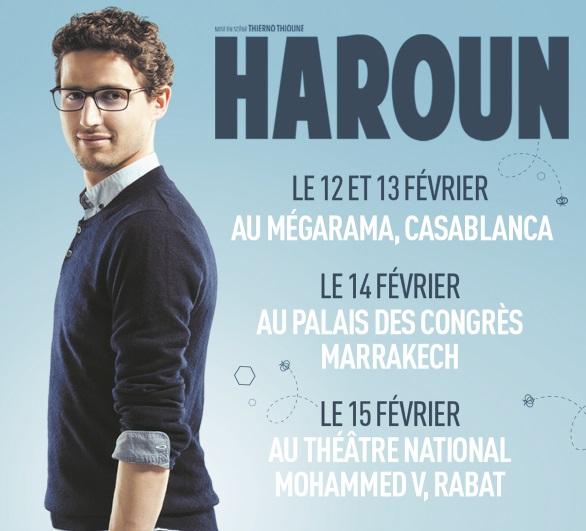 Haroun sur scène au Maroc