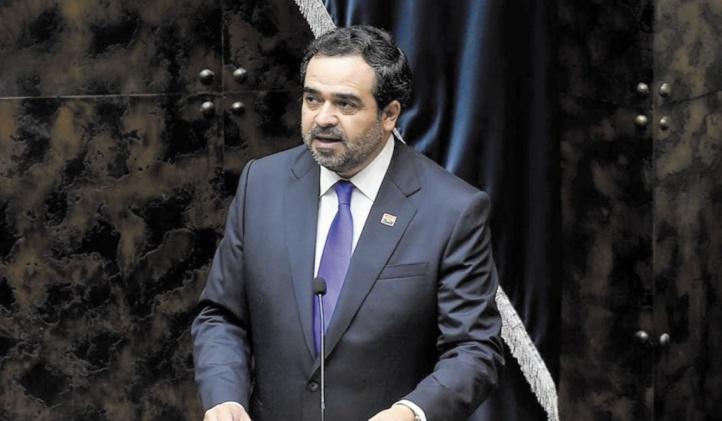 Le président du Sénat chilien, Jaime Quintana.