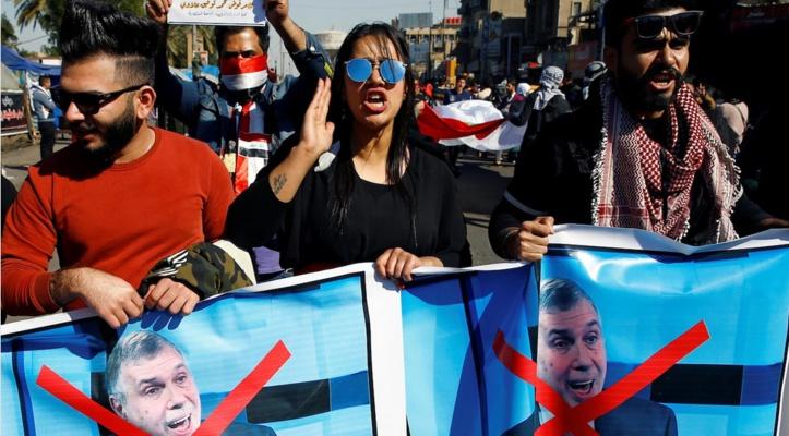 Les manifestants dans la rue malgré les promesses du Premier ministre irakien désigné