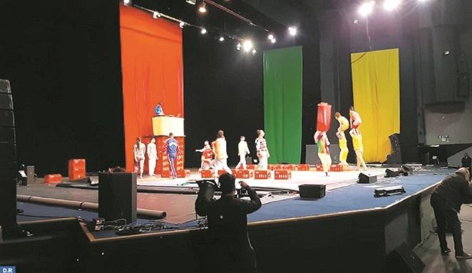 """Le Groupe acrobatique de Tanger présente son nouveau spectacle """"Réveille-toi"""""""