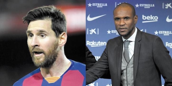 Messi tacle Abidal après une sortie sur le licenciement de Valverde