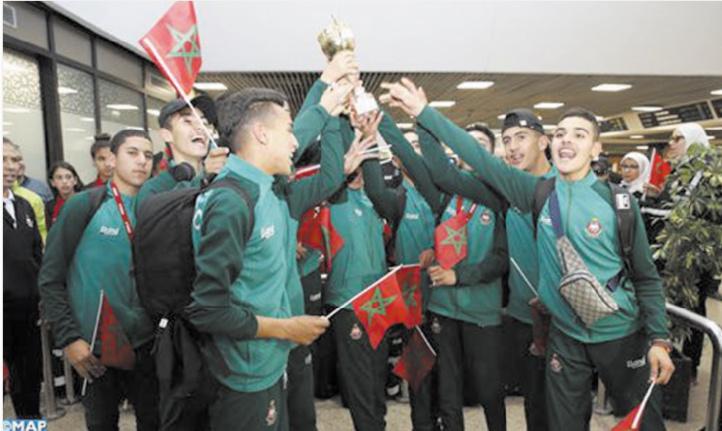L'équipe nationale scolaire de cross-country accueillie avec les honneurs à Casablanca