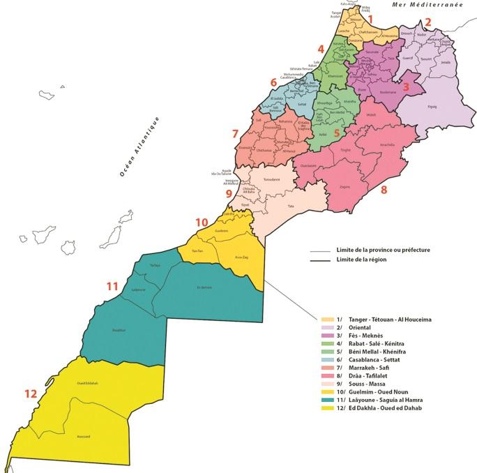 Les douze régions sont loin d'être logées à la même enseigne