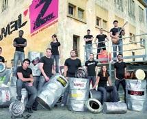 Spectacle inédit avec le groupe de percussion urbaine Bramel'z à Casablanca : Son, feu, eau et lumière à la Villa des arts