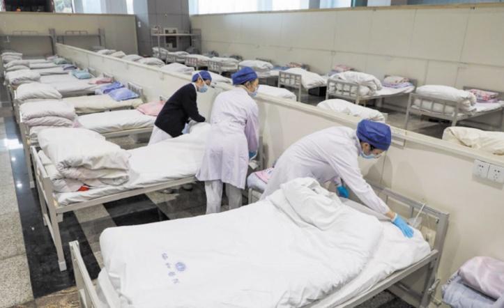 Coronavirus: La Chine en mal de lits